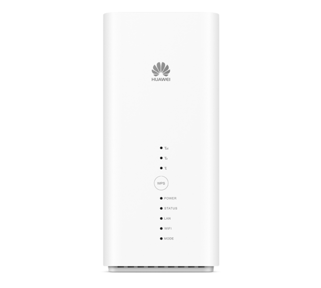 MTN fixed LTE supported Hauwei router picture with model code B618