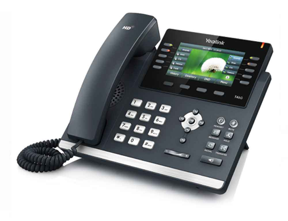 A picture of a Yealink T46S IP Handset