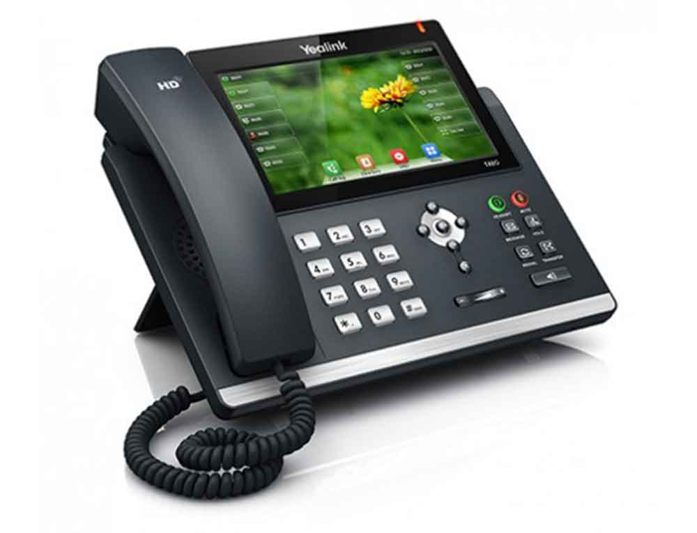 A picture of a Yealink T48S IP Handset