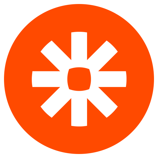 A circlular logo of Zapier Integration