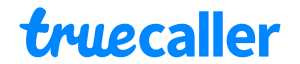 A logo of truecaller - a spam prevention mobile application
