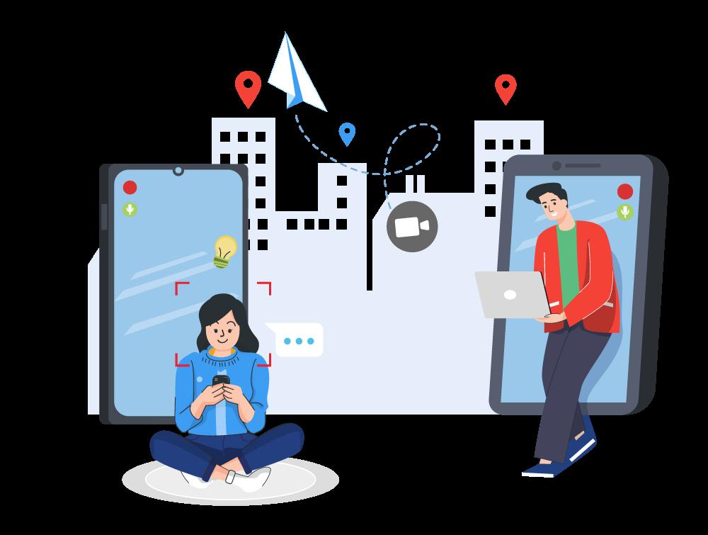 People Using Bulk Messaging Platform